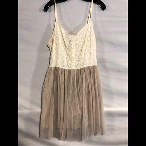 American Eagle Lace and Tule Dress